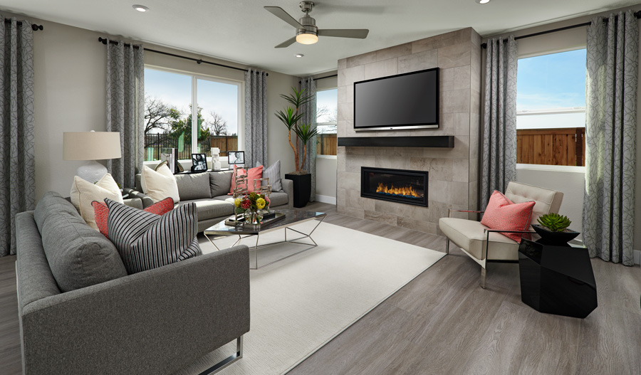 Family Room of the Arnold plan