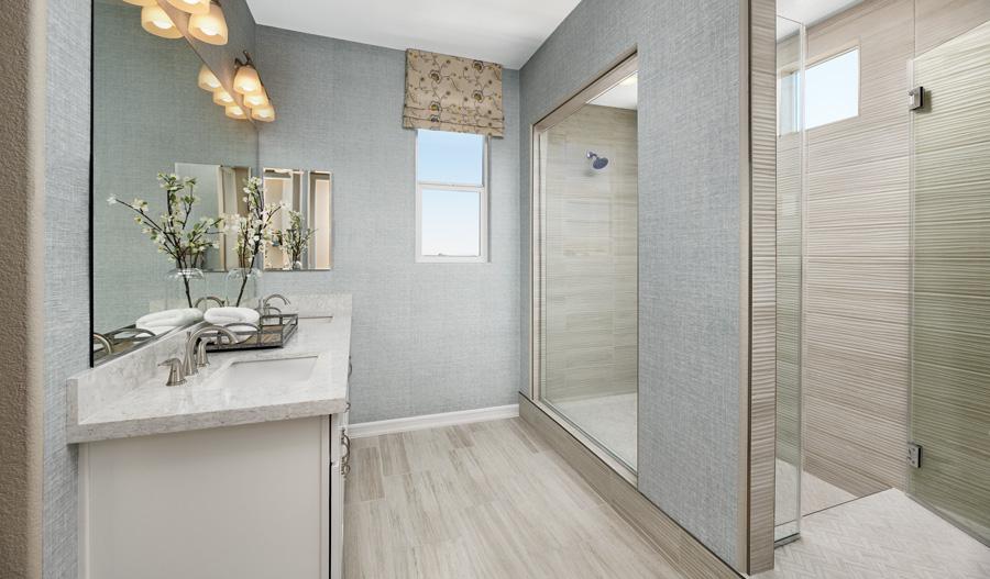 Owner's Bathroom of the Juniper plan