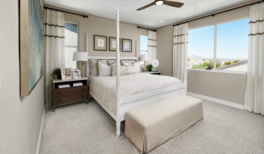 Owner's Bedroom of the Juniper plan