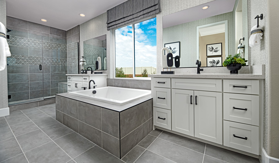 Owner's bathroom of the finch plan
