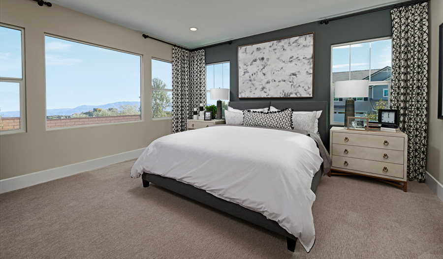 Owner's Bedroom of the Finch plan