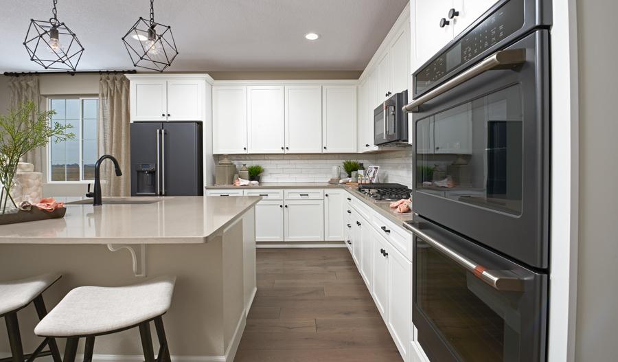 Kitchen Detail of the Arlington plan