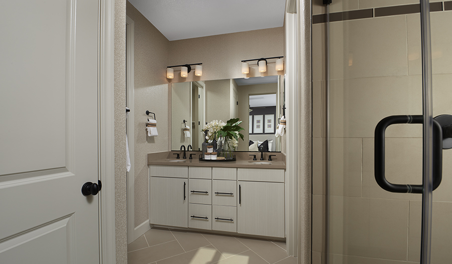 Owner's Bathroom of the Baxter plan