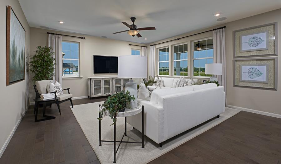 Living room of The Coronado