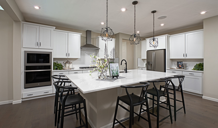 Kitchen of the Coronado plan