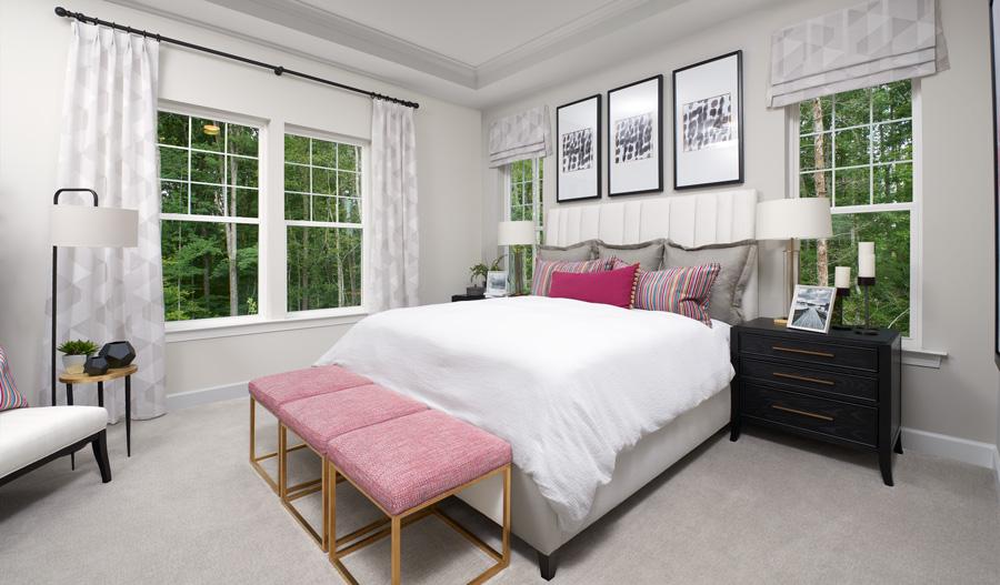 Owner's Bedroom of the Decker plan