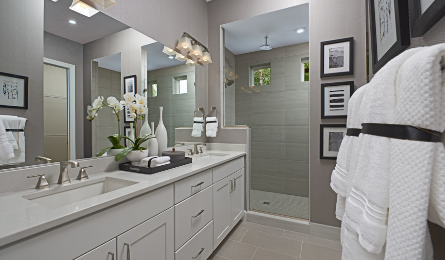 Owner's Bathroom of the Decker plan