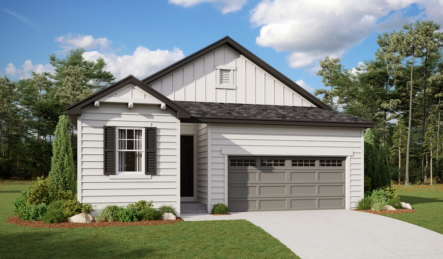 Exterior A of the Sunstone plan