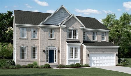 Exterior B of the Amherst floor plan in Old Dominion Greens