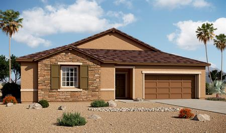 Exterior B of the Paige floor plan in the Arlington Point community