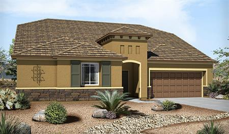 Exterior C of the Paisley floor plan in the Granite Falls community