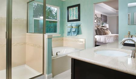 Bathroom in the Piermont floor plan
