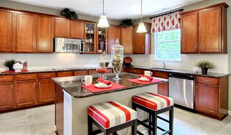 Kitchen in the Piermont floor plan