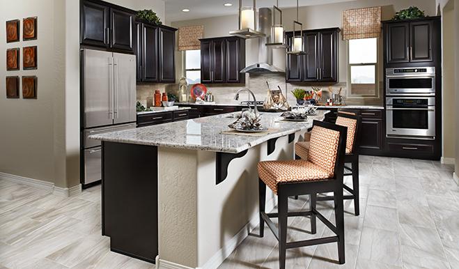 Kitchen in the Reece floor plan