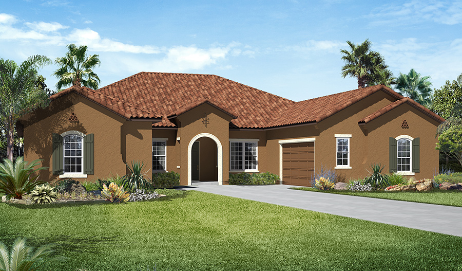 Reduced 50k Expansive Ranch Home With 5 Car Garage: Reece Floor Plan At The Cove At North Pointe