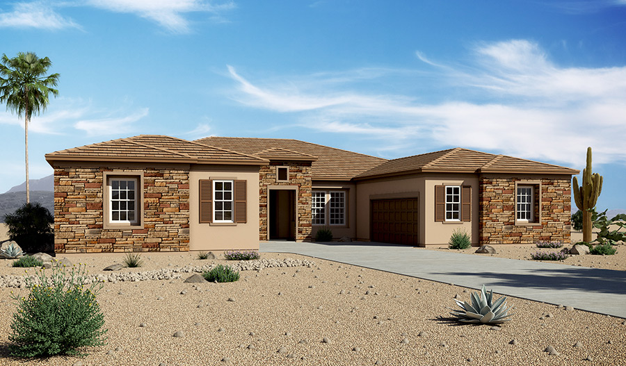 Richmond american homes floor plans arizona home design for Arizona house plans