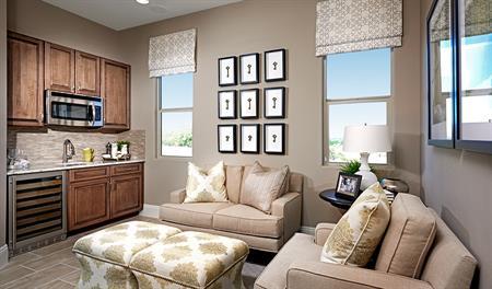Guest suite in the Robert floor plan