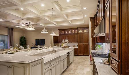 Kitchen in the Robert floor plan