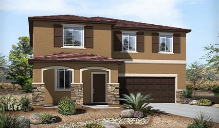 Exterior C of the Sadie floor plan in the River Grove South community