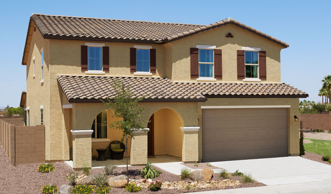 New homes in goodyear az home builders in canyon trails for Home design 85032