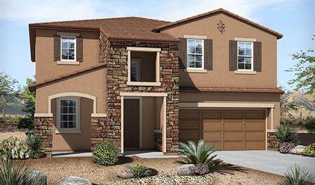 Exterior C of the Sandra floor plan in the Westview Pointe community