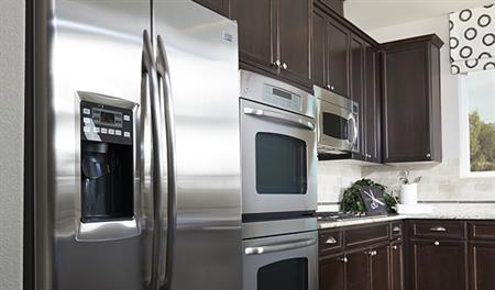Kitchen in the Sarah floor plan