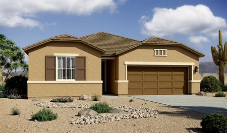 Exterior B of the Sarah floor plan in the Willow Vista community