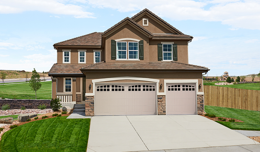 Model homes in parker colorado