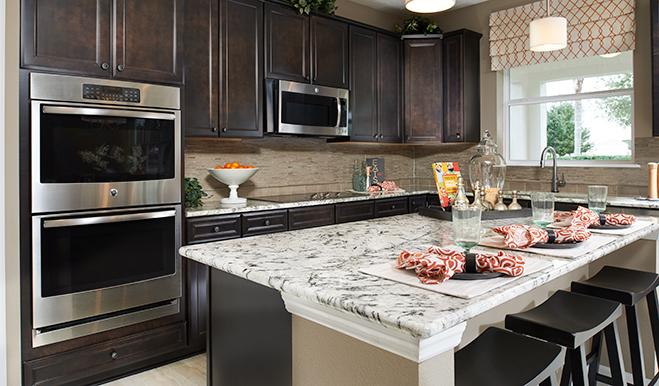 Kitchen in the Seth floor plan