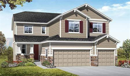 Exterior D of the Seth floor plan in the Fox Hollow community