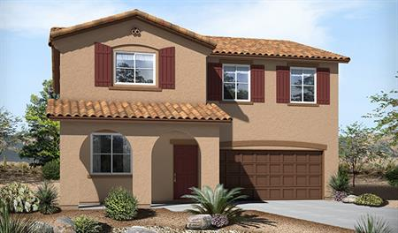 Exterior A of the Stacey floor plan in the Skyline Ridge community