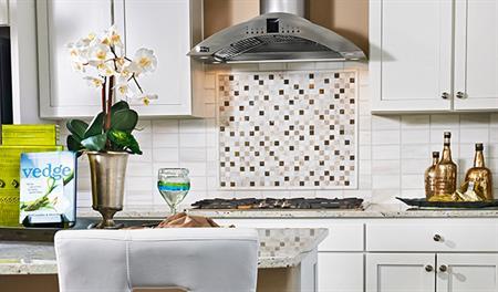 Kitchen in the Thomas floor plan