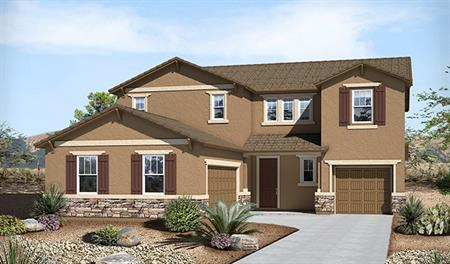 Exterior B of the Thomas floor plan in the Westview Pointe community