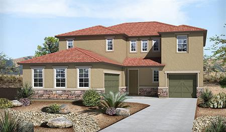Exterior C of the Thomas floor plan in the Westview Pointe community