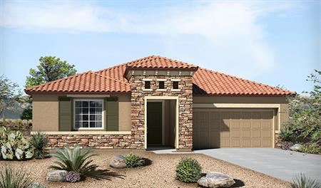 Exterior C of the Timothy floor plan in the Eagle Crest Ranch community