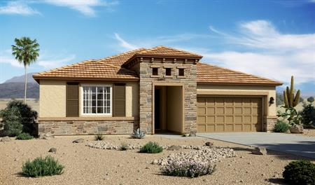 Exterior C of the Timothy floor plan in the Willow Vista community
