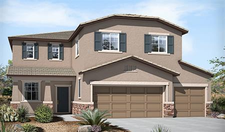 Exterior B of the Tracy floor plan in the Connor Hills community