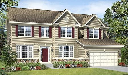 Vanderbilt ii floor plan at old dominion greens for Modern homes northern virginia