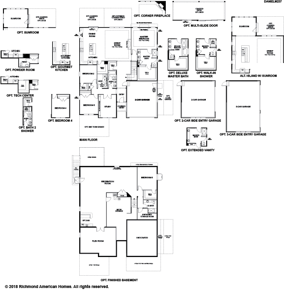 The Daniel floor plan