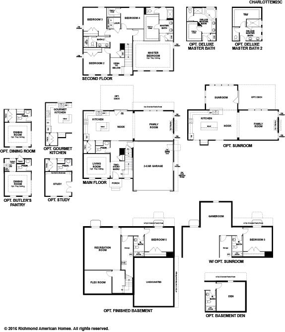 The Charlotte floor plan
