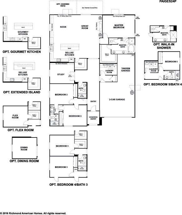 New homes in wildomar ca home builders in creekside at for Richmond homes ranch floor plans