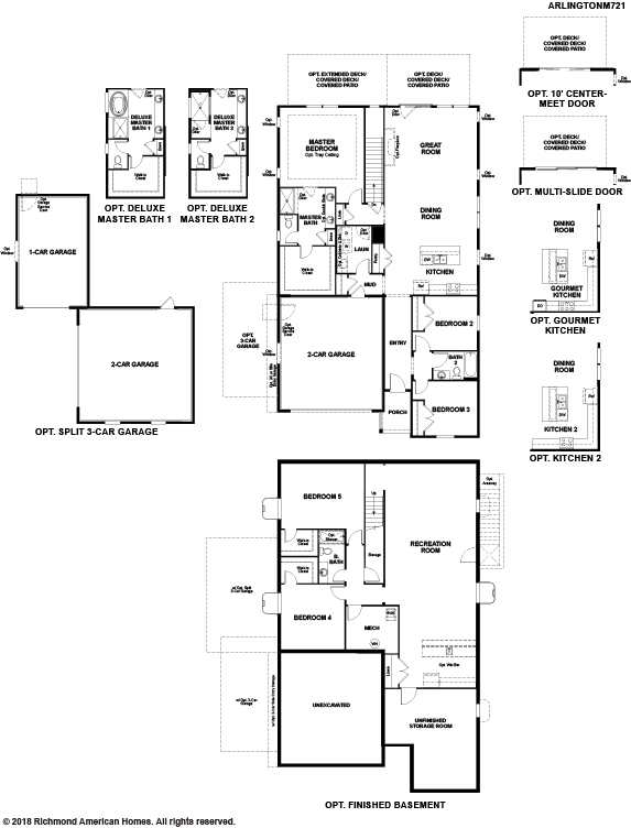 The Arlington floor plan