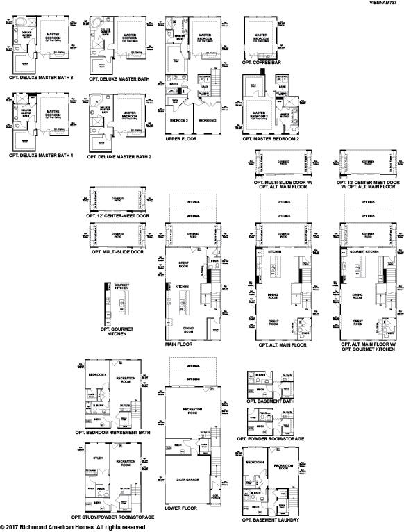 The Vienna floor plan