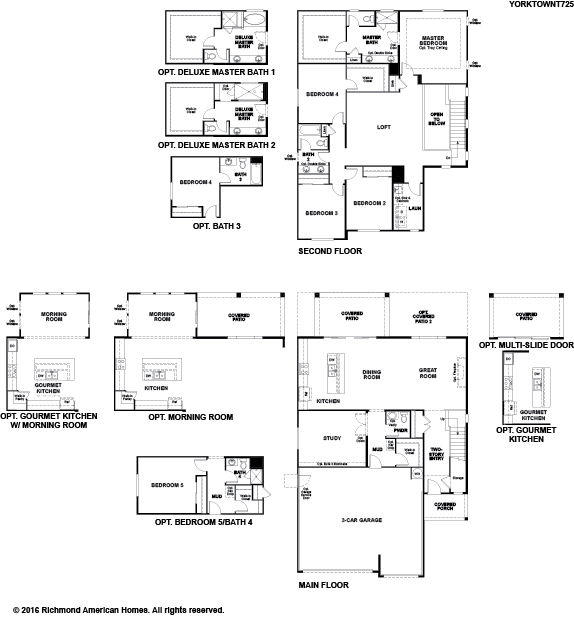 The Yorktown floor plan