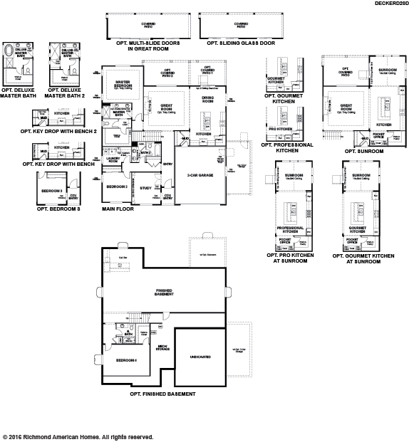 The Decker floor plan