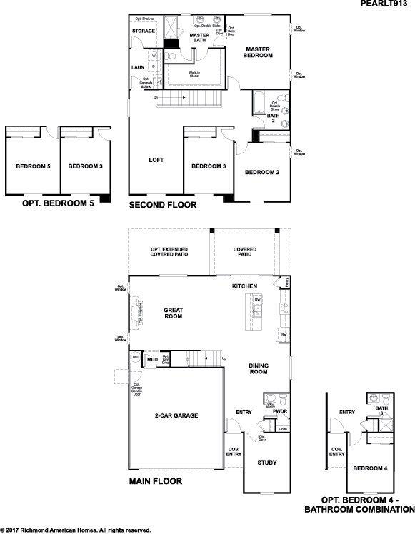 The Pearl floor plan