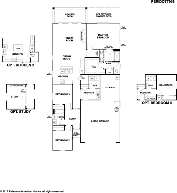 Peridot floor plan