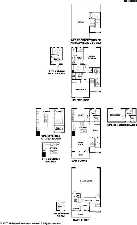 Soho floor plan Denver