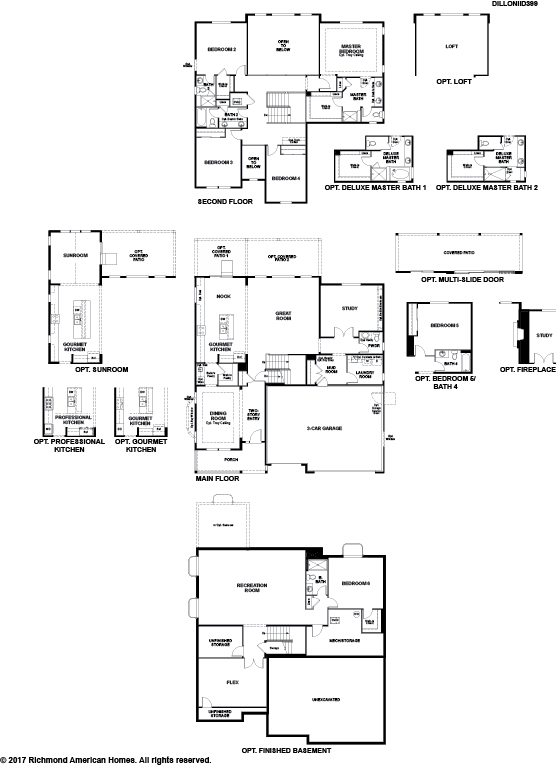 The Dillon II floor plan