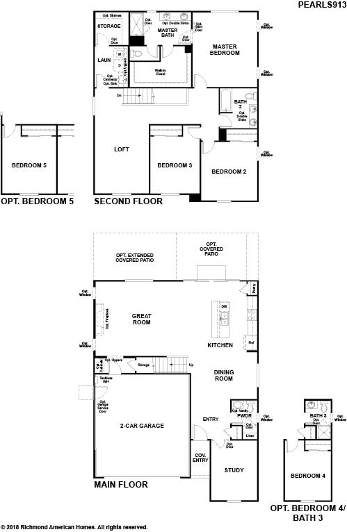The Pearl Floor plan